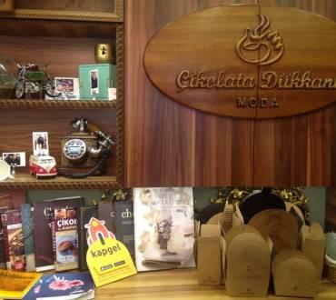 Çikolata Dükkanı (Moda) – İstanbul Lezzetleri