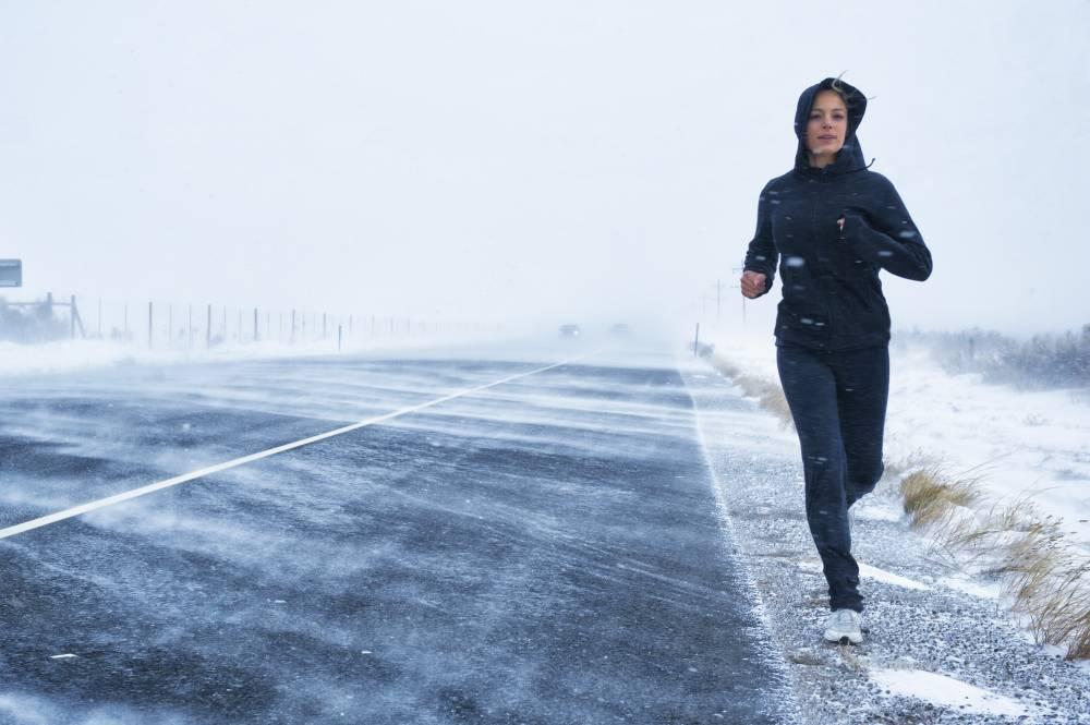 kışın spor yapmak